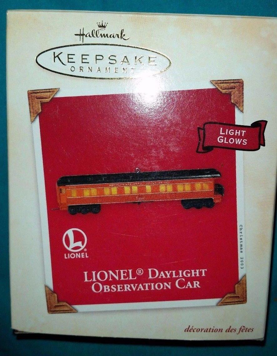 Hallmark Keepsake Ornament - Lionel Daylight Observation Car - New in Box