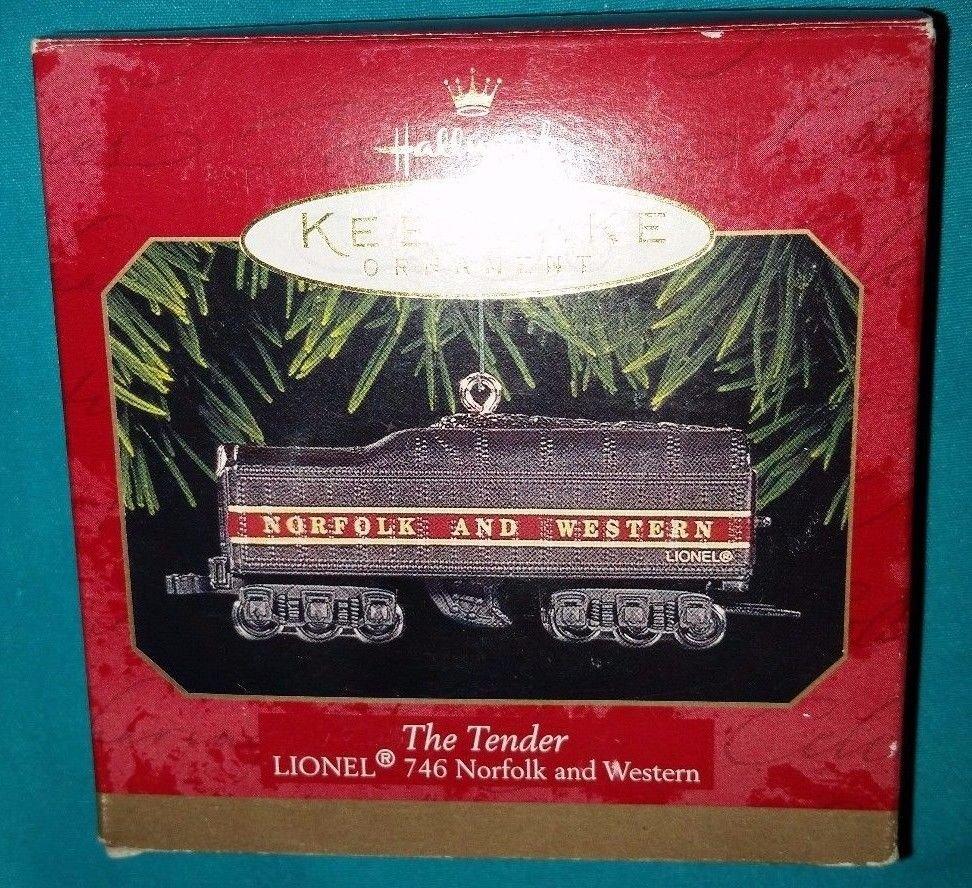 Hallmark Keepsake Ornament - The Tender Lionel 746 Norfolk & Western New in Box