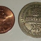 Harvey's Casino & Hotel 25 cent Game Token - No Date - Used in ciruclation