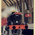 Hogwarts Express Vintage Poster # 2