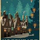 Hogsmead Vintage Poster