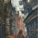 Diagon Alley Vintage Poster