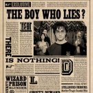 Harry Potter Daily Prophet Vintage Poster