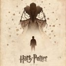 Deathly Hallows Vintage Poster