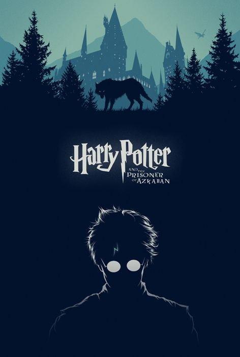 Prisoner of Azkaban Vintage Poster