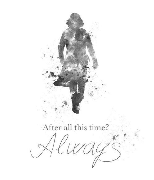 """Always"" Vintage Poster"