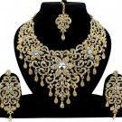 Indian Wedding Jewelry, Traditional Jewelry, White Princess Bollywood Jewellery Necklace Set