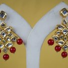 Dangle Ruby Earrings, Stud Earrings, Statement Earrings, Chandelier Bridal Earrings Wedding 335