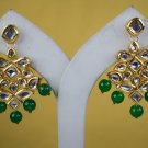 Dangle Emerald Earrings, Stud Earrings, Statement Earrings, Chandelier Bridal Earrings Wedding 336