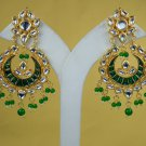 Statement Earrings, Chandelier Bridal Earrings, Stud Earrings, Dangle Earrings Meena Kundan 303