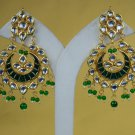 Statement Earrings, Chandelier Bridal Earrings, Stud Earrings, Dangle Earrings Meena Kundan 305