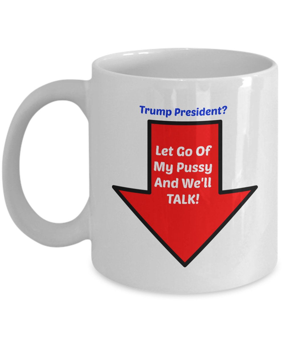 Funny PRESIDENT TRUMP 110Z Mug Novelty Ceramic Coffe Tea Cup Ideal Gift