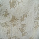 spun silk fabric textured leaf motif sell by meter