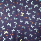 12mm lightweight silk twill fabric with butterfly print 140cm wide apparel fabric
