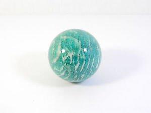Amazonite stone sphere (37 mm)