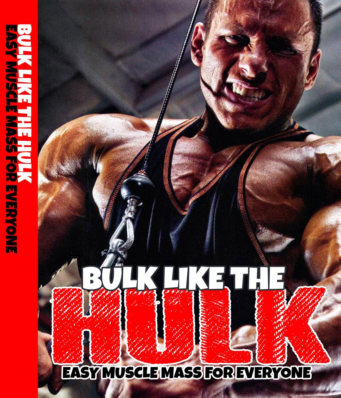 Bulk like the Hulk Training Videos Advanced
