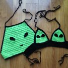 Alien Crop Top Set