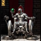 Sideshow Exclusive Ultron on Throne Comiquette Statue with Vision & Antman head