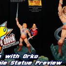 MASTER of The UNIVERSE HE-MAN EXCLUSIVE 1/4 STATUE  Pop Culture Shock