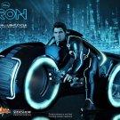 HOT TOYS Sam Flynn Light Cycle TRON LEGACY Disney 1/6 Scale Movie Masterpiece