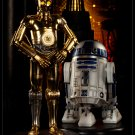 Sideshow Exclusive C3PO and R2D2 Star Wars Premium Format Like New
