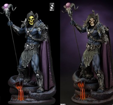 Sideshow Skeletor Exclusive Masters of the Universe SEALED