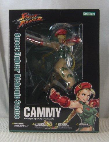 Street Fighter Cammy Bishoujo Statue Kotobukiya NEW