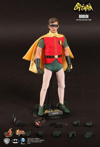Hot Toys MMS219 Batman 1966 Classic TV Robin Burt Ward 12 in Action Figure