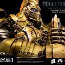 THE LAST KNIGHT GRAIL Optimus Prime  Gold Version + Gold Bust  Rare SEALED