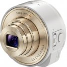 Sony Cyber-shot DSC-QX10 18.2 MP Digital Camera - White