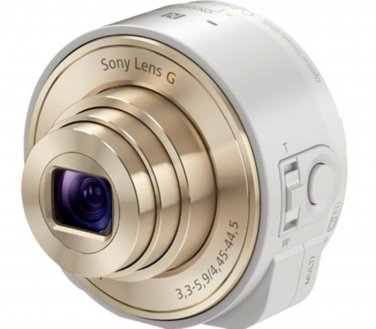 Sony Cyber-shot DSC-QX10 18.2 MP Digital Camera - White
