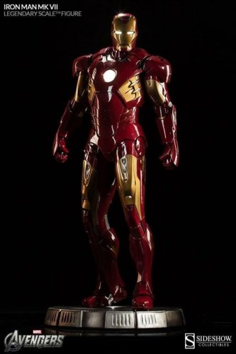 Iron Man Mark VII  * Legendary Scale� * Figure by Sideshow Collectibles Read