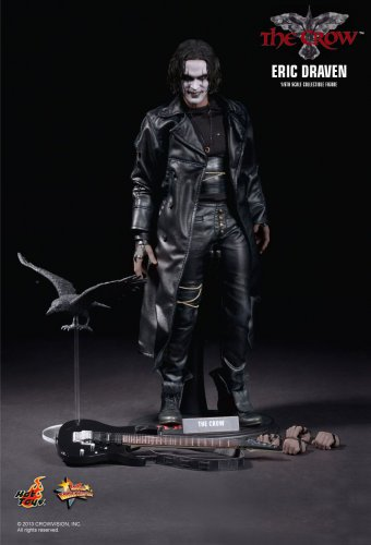Hot Toys MMS 210 The Crow Eric Draven Brandon Lee 12 inch