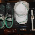 MENS MERCEDES F1 SET PUMA SHOES 9½US , CAPS , WATCH , PEN,  SUNGLASSES CASE AND LIGHTER