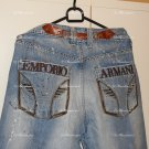 2* JEANS : Emporio Armani 33X34 Used and Victorious 34x30  New with Tag