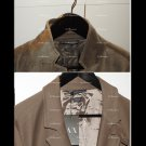 Two Armani Exchange A|X Mens Blazer:   Fleece Textured LG (new) and Velvet 42Reg 10 years old