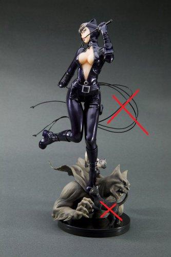 Kotobukiya Catwoman Bishoujo with Box (READ DESCRIPTION)