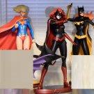 Cover Girl Set of 3. SuperGirl, BatWomen and BatGirl