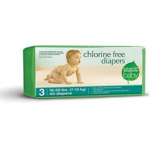 Seventh Generation Chlorine Free Diapers Stage 3 CASE