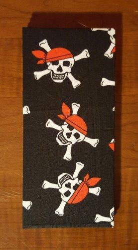 Pirate Skulls Magic Moneybook