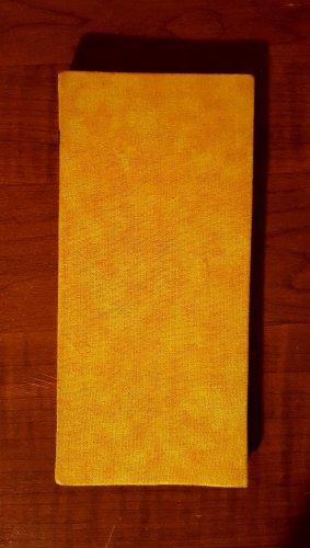 Yellow Textures Magic Moneybook