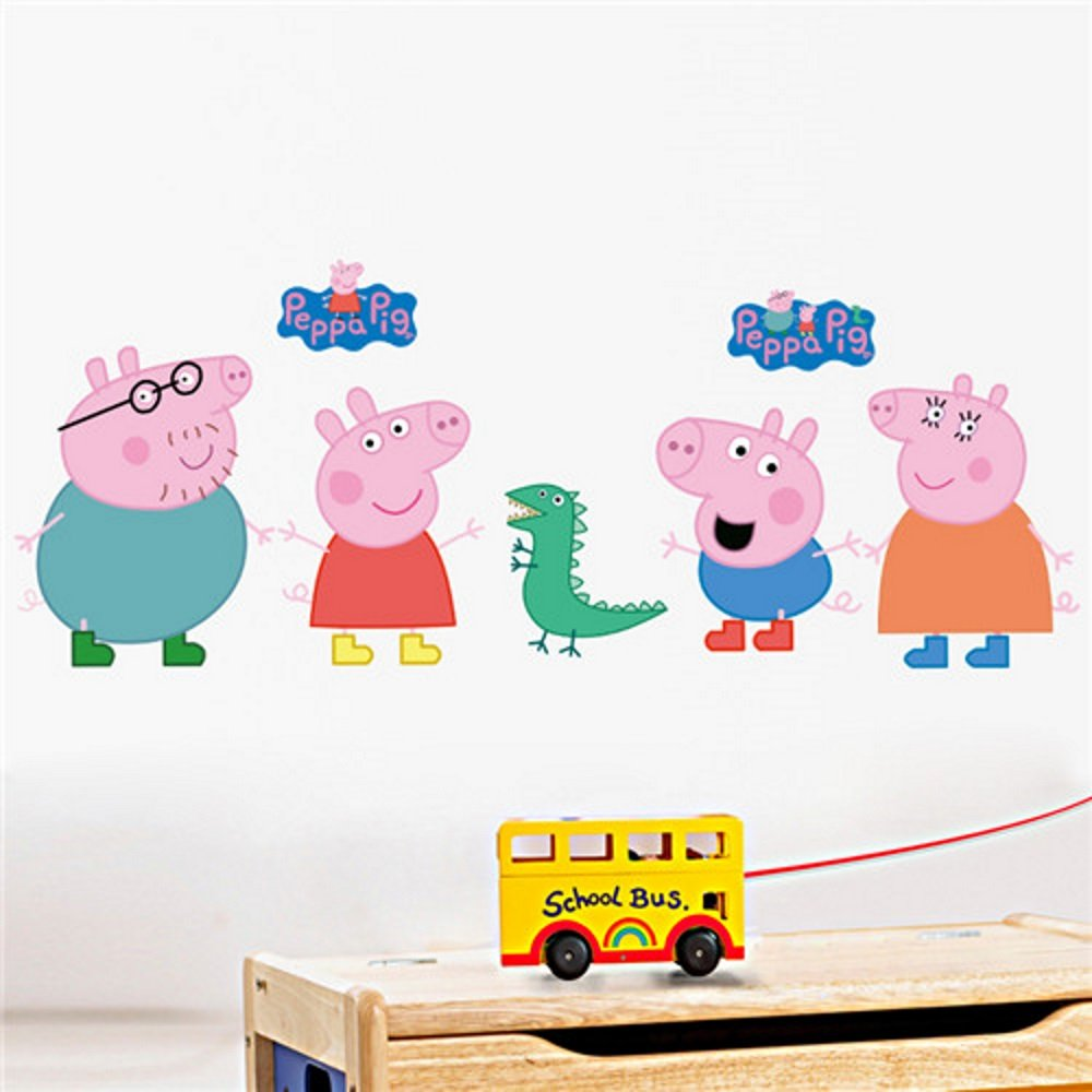 Peppa Pig | 20x28 in Removable Wall Decal/Stricker