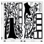 LARGE 6ft X 9ft - Memory Tree Photo frames Wall Sticker/Decal Decor