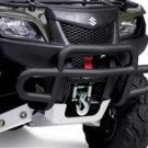 2008 King Quad Front Bumper - Black Finish