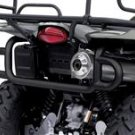 2008 King Quad Rear Bumper - Black Finish