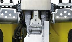 2008 QuadSport Z400 Rear Shock Link Skid Plate