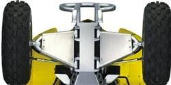 2008 QuadSport Z400 A-Arm Guards