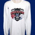 2015 Boca Raton Bowl Souvenir Tee - L/S White - Adult L