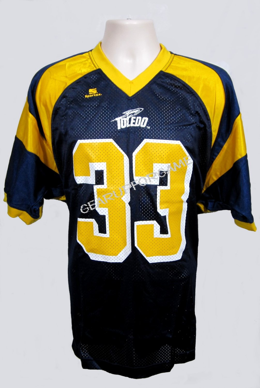 Toledo Rockets Replica Jersey - Blue - Adult Small (S)