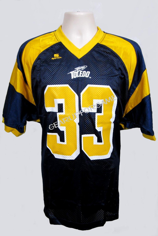 Toledo Rockets Replica Jersey - Blue - Youth Small (YS)